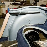 Making of rear quarter panels