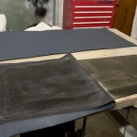 Leathercloth on door liners