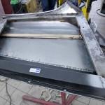 Door frame repair panel that fits
